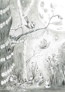 ' Super Moon and Fairy Dust' written and illustrated Megan Higginson